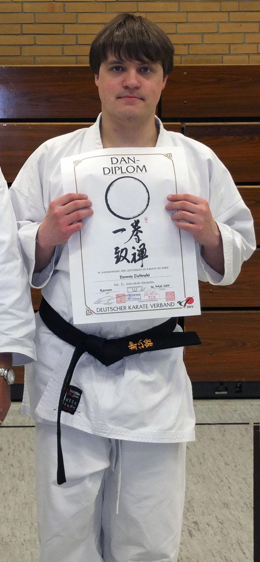 Karate Autismus Dennis Dan