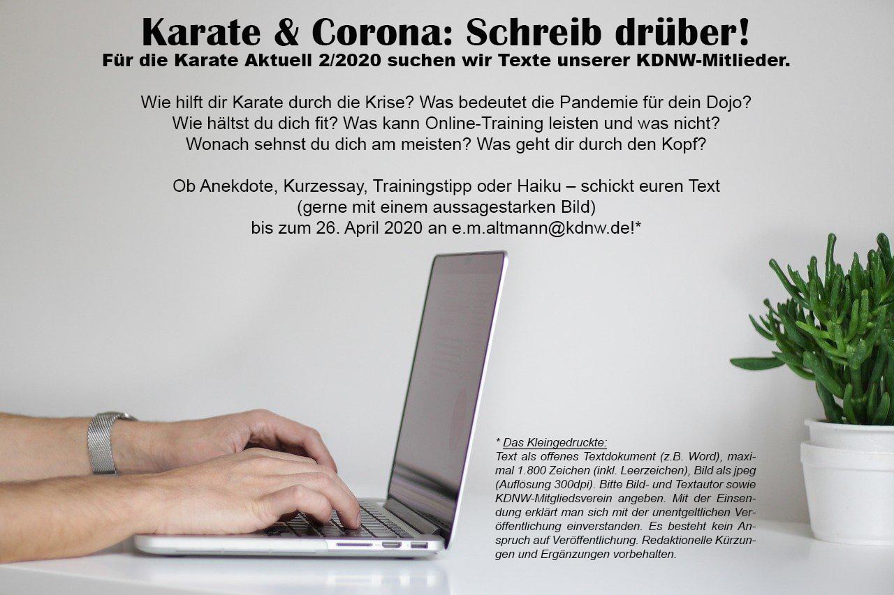 KarateAktuellCorona
