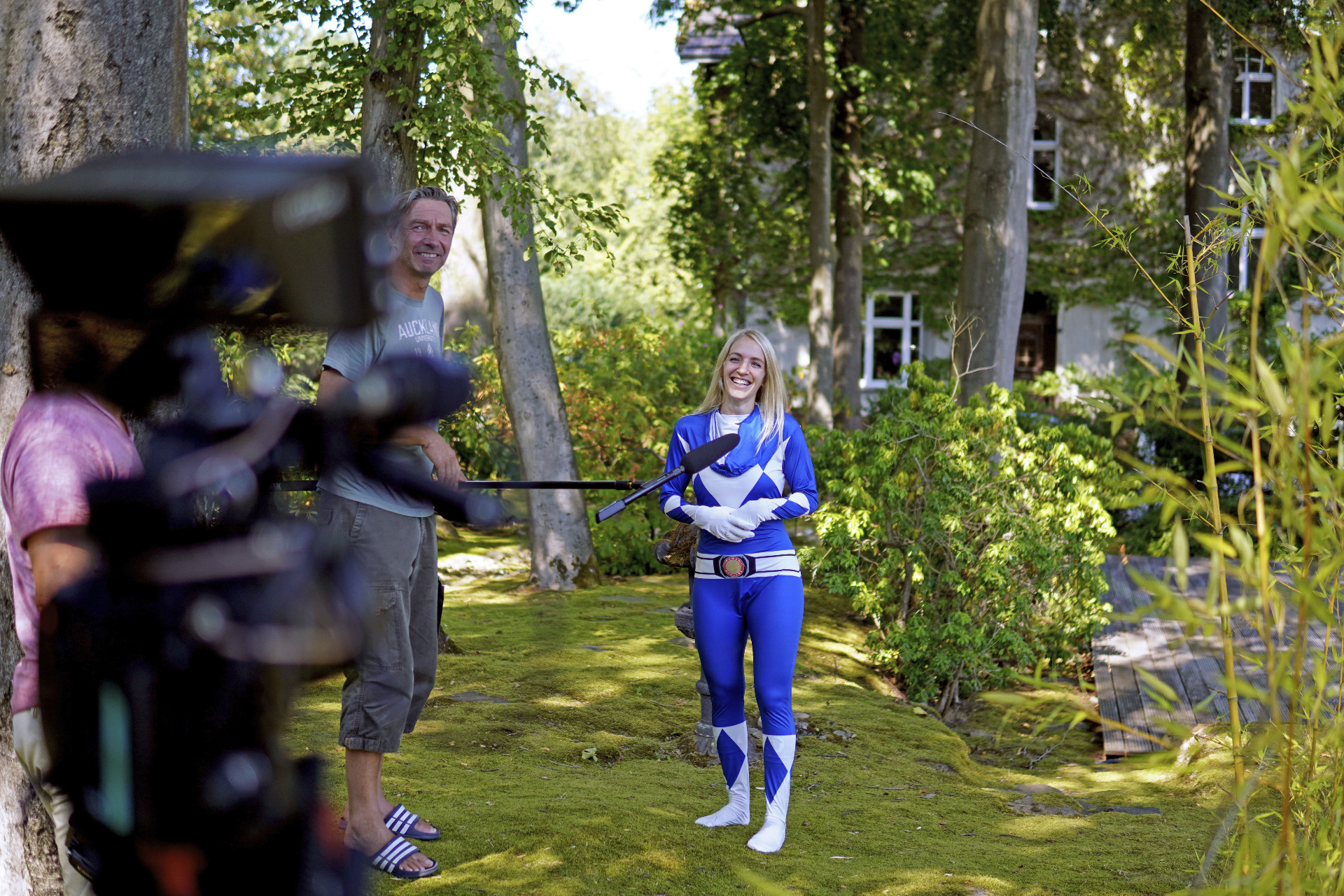 Jana Messerschmidt als Power Ranger