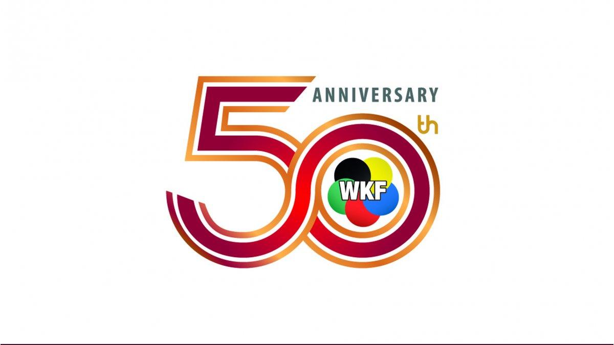 50 Jahr WKF Logo