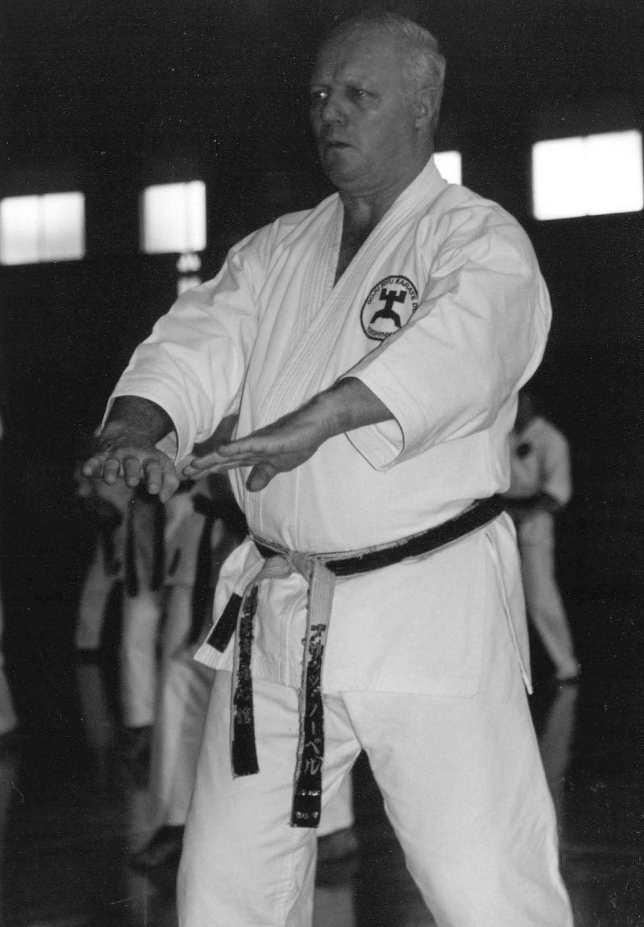 Fritz Nöpel 2007 in Japan (Foto: Karate Do Club Kamen/Bergkamen)