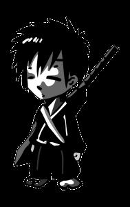 Kleiner Samurai