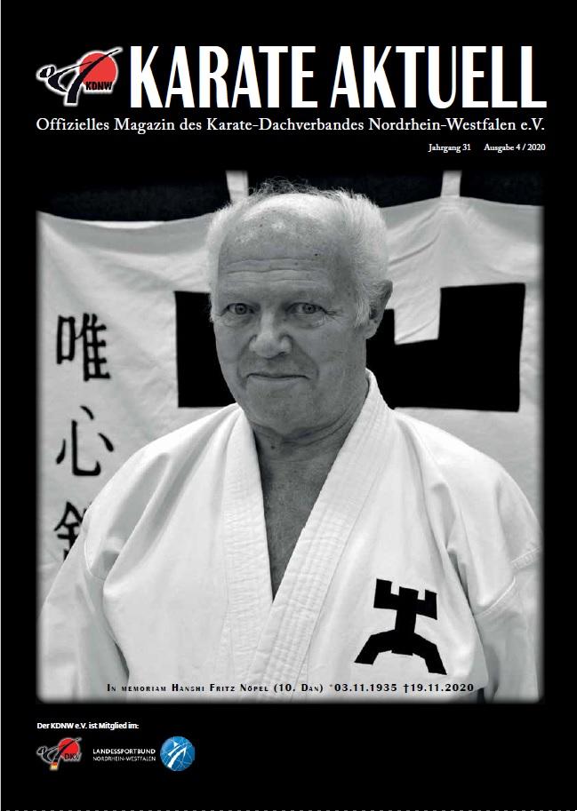 Karate Aktuell 4/2020 jetzt auch online verfügbar