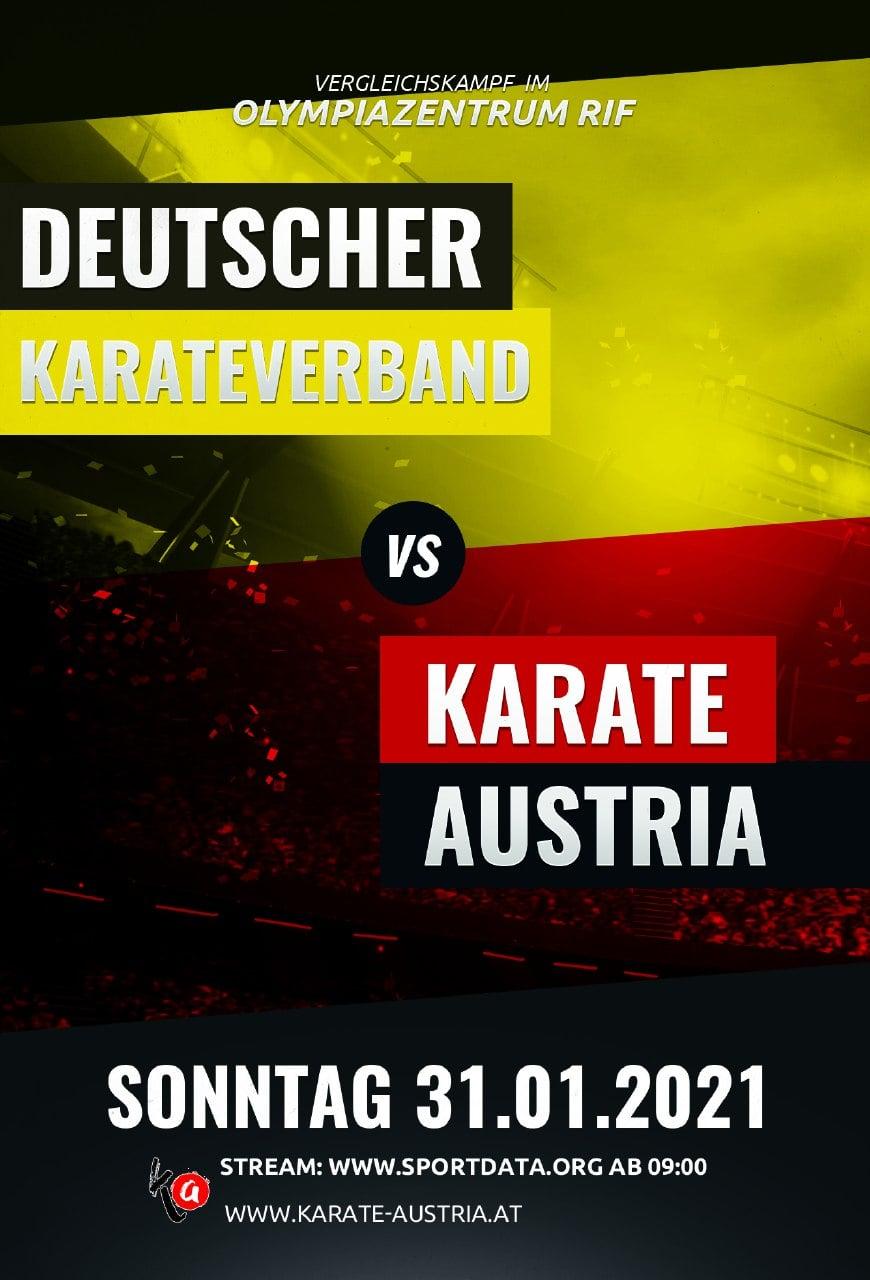 Livestream: Ländervergleichskampf Deutschland vs. Österreich