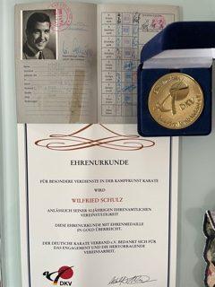 Aus unseren Dojos: Wilfried Schulz - 50 Jahre Karate