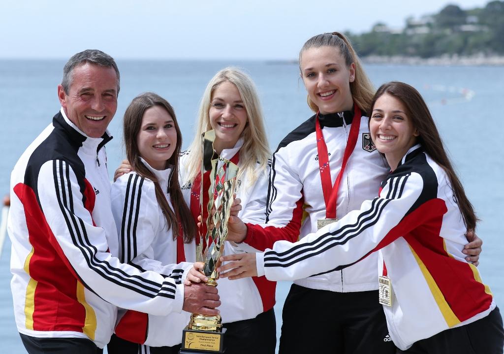 Kumite-Team Damen Europameister 2021