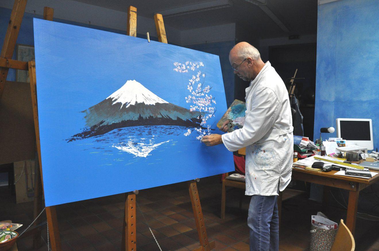 Aus unseren Dojos: Von Japan ins blaue Atelier von Uli Helbig