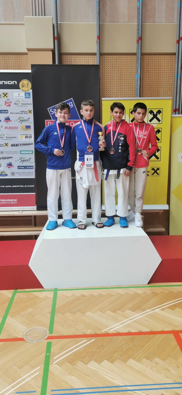 Schöne Erfolge bei den Austrian Junior Open