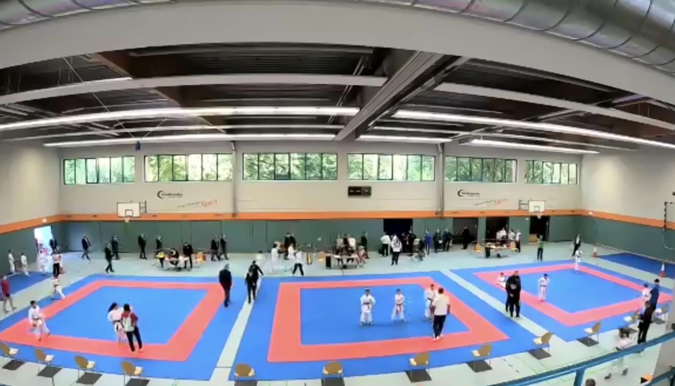Livestream LM u12 bis Leistungsklasse - Kata & Kumite