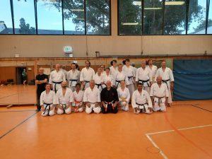 Gruppenfoto Sommertraining KC Bonn I