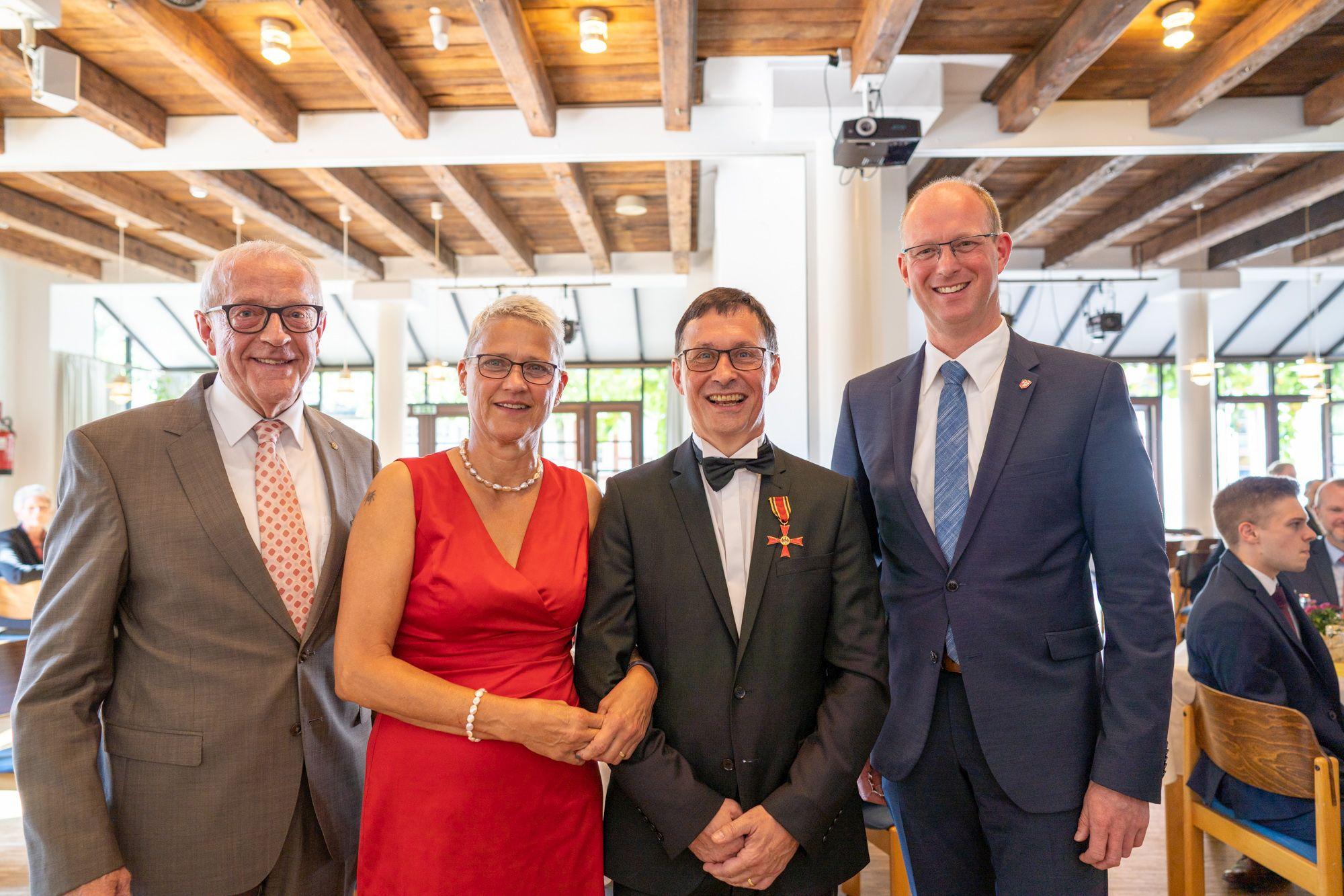 Bundesverdienstkreuz Detlef Hans Serowy